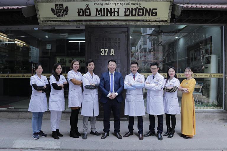 Đội ngũ lương y, bác sĩ tại nhà thuốc Đỗ Minh Đường (Cơ sở miền Bắc)