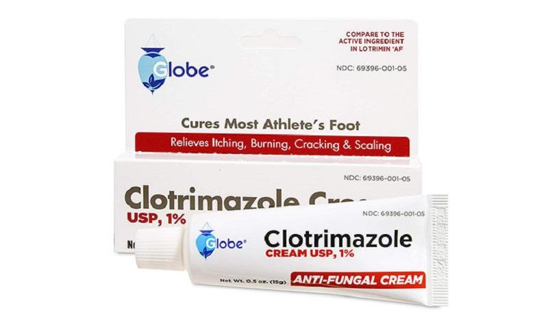 Clotrimazole là một trong những loại thuốc được điều chế có dạng bôi ngoài da khá tiện lợi