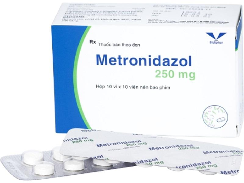 Thuốc chữa viêm âm đạo nổi tiếng Metronidazol được nhiều chị em tin dùng hiện nay