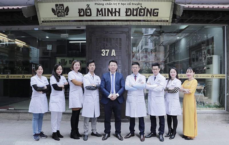 Đội ngũ bác sĩ, chuyên gia tại nhà thuốc Đỗ Minh Đường