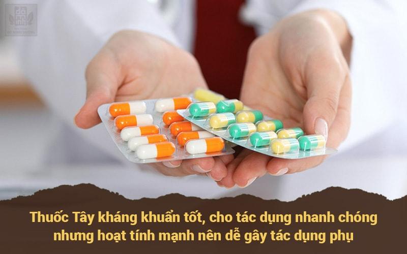 Thuốc tây y không phải là giải pháp hữu hiệu đối với bệnh phụ khoa