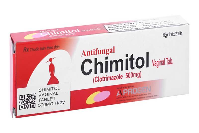 Thuốc đặt âm đạo - Chimitol
