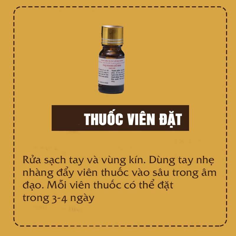 Thuốc viên đặt Phụ Khang Đỗ Minh
