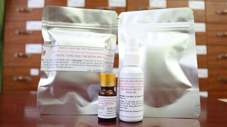 Bài thuốc Phụ Khang Đỗ Minh chữa bệnh phụ khoa của nhà thuốc Đỗ Minh Đường