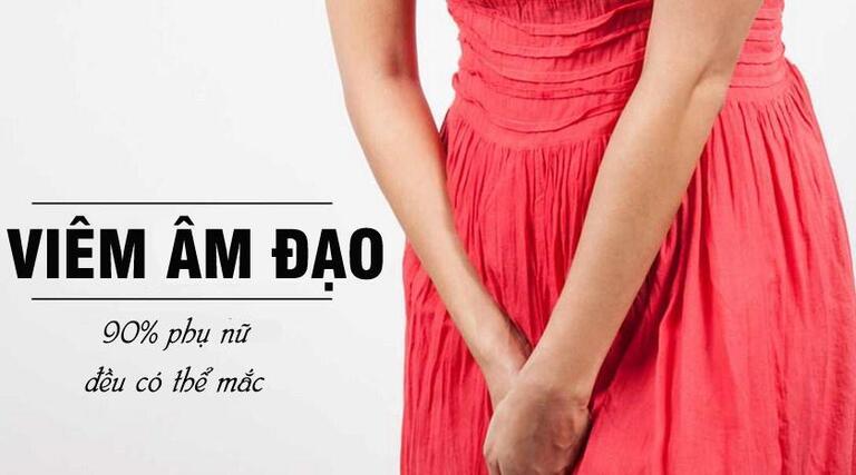 90% phụ nữ có nguy cơ mắc viêm âm đạo ít nhất 1 lần trong đời